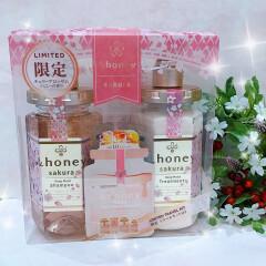 限定🌸「&honey sakura 」シャンプートリートメントペアセット✨