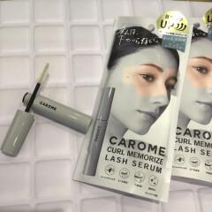 大人気商品 CAROME.から、ふんわり、くるりとカールキープ『カールメモライズラッシュセラム』入荷しました。