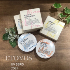 【ETVOS】MINERAL UV SERIES 2021