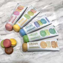 マカロンがコンセプトの5種類のカラフルフレーバー歯磨き粉♡『ukiwi(ユーキウイ)』