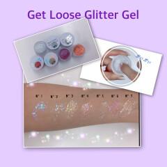 ✨韓国ヴィーガンコスメ✨キラキラグリッター好きに💓UNLEASHIA  Get Loose Glitter Gel 〜アンリシア ゲットルースグリッタージェル〜💓