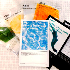 【新入荷】Abib(アビブ)のパック7種をご紹介!弱酸性フィットマスクシリーズ&グミシートマスクシリーズ【韓国スキンケア】