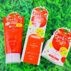 フレッシュトマトのスキンケア、誕生!! トマトの恵みでちゅるり~ん透け美肌への近道を🍅🤩