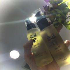 Miel gloss Oil♪人気サロン[GARDEN]開発のヘアオイル(*⁰▿⁰*)