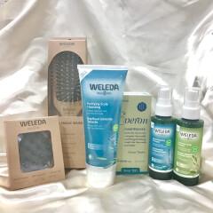 【頭皮ケアにはWELEDA(ヴェレダ)のディープクレンジング✨】皮脂詰まりからヘアオイルなどの残留物までスッキリ仕上げを体験してみて❗️😻