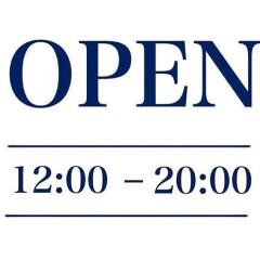 *8月2日開店時間変更のお知らせ*